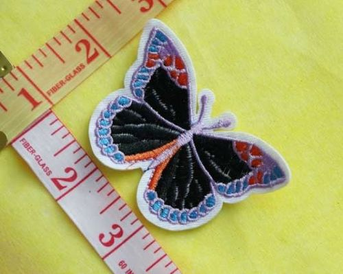 Sew On| iron on |Applique Motif  | Butterfly B 07
